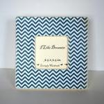 Navy Blue Chevron Picture F..